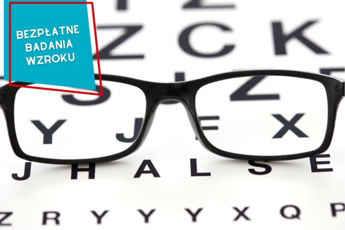 Bezpłatne badania wzroku w Przychodniach Brackich